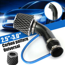 3'' Universal Car Cold Air Intake Induction Hose Pipe Kit System & Filter Chrome