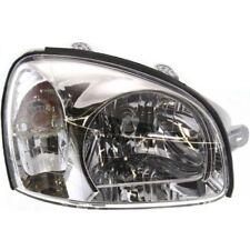 For Santa Fe 01-03, Passenger Side Headlight, Clear Lens