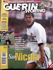 Guerin Sportivo n°38 1998 Ancelotti Alvaro Recoba Cagliari Ventola  [GS13]
