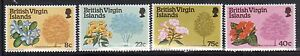 British Virgin Islands 338-41 Flowers and Trees Mint NH