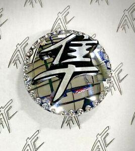 HAYABUSA CHROME KANJI 3D GAS CAP FOR 99-07 SUZUKI HAYABUSA *DISPLAY