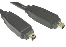 1m Firewire Cable IEEE1394 4 Pin to 4 Pin DV-OUT Camcorder Lead