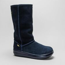 Suede Pull On Low Heel (0.5-1.5 in.) Casual Boots for Women