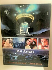 Collectible vintage E.T The Extra Terrestrial Movie Storybook book 30 movie stil
