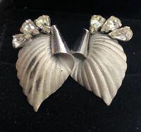 Vintage Sterling Silver Earrings 925 Screw Back Modernist Signed Bond Boyd