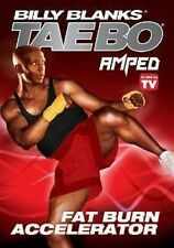 Billy Blanks Amped FAT BURN ACCELERATOR (DVD) tae bo taebo cardio workout NEW