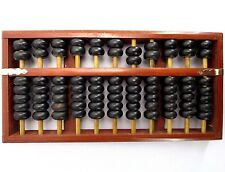 Vintage Chinese Wooden Bead Arithmetic Abacus/ Calculating Tool 1950-60s