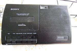 SONY Cassette player/recorder TCM-919 WORKING