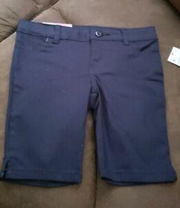 French Toast Girls Navy Blue Uniform Shorts sz 5 NWT