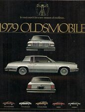 Oldsmobile Omega Starfire Cutlass 1979 USA Market Sales Brochure