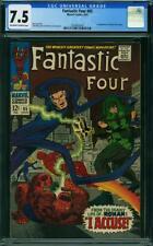 Fantastic Four #65 CGC 7.5 -- 1967 -- 1st app Ronan the Accuser #2038455009