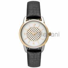 Kate Spade Original KSW1162 Women's Boathouse Black Leather Watch 30mm