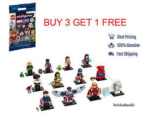 Lego Marvel Studios 71031 Series Minifigure Captain America Loki Sylvie YOU PICK