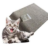 Cat Kitten Scratch Board Pad Corrugated Scratcher Bed Mat Claws Care Toys Pop