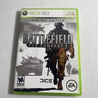 Limited Edition Battlefield: Bad Company 2 (Microsoft Xbox 360, 2010) Video Game