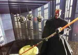 Sideshow Star Wars Darth Maul Probe Droids Figure Sith Lords Boxed + Maul Figure