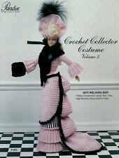 1875 Walking Suit Crochet Pattern Paradise Voume 3, P-003 Fashion Doll Barbie