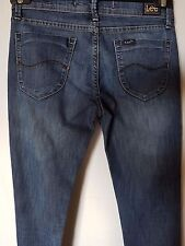 "WOMEN'S LEE STRETCH JEANS MADE IN AUSTRALIA SIZE 10/28"" LEG 33"""
