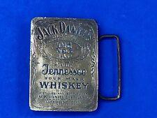 Jack Daniels Vintage Gold / Brass -Toned 675 Tennessee Whiskey Belt Buckle