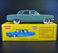 Dinky Toys 1:43 Chevrolet Corvair die-cast car model Green