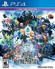 World of Final Fantasy: Day One Edition - PlayStation 4 PS4 - NEW & SEALED!