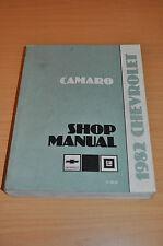 Werkstatthandbuch Chevrolet 1982 Camaro Shop Manual 2,5 L4 2,8 V6 5,0 V8 Engine