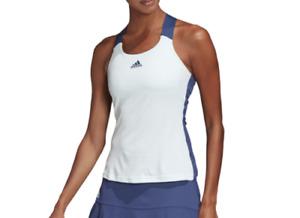 NWT Adidas Tennis Tank Ladies Medium or Large Heat RDY Training w Bra Green NEW