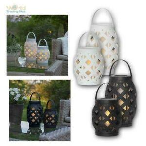 LED Garden Light With Fire Flamme-Effekt & Timer, Außen-windlicht Flickering