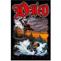 Dio Holy Diver Fabric Poster Flag Textile Fabric Wall Banner Official