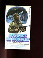 ASSAULT IN NORWAY ( Allied anti-atom bomb raid) Thomas Gallagher  1st  US SB VG