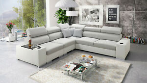 Brand New corner sofa bed with storage Perseo III