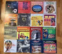 16 LP Vinyl Albums Jesus Christ Superstar, Godspell,WestsIde Story Broadway Cast