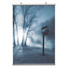 Profili Porta Poster sospeso vetrina per locandina manifesto Stecche - 120 cm