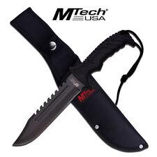 KNIFE COLTELLO DA CACCIA MTECH-2057B SURVIVOR SOPRAVVIVENZA SURVIVAL STILE RAMBO