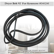 92'' Dryer Belt For Kenmore Maytag Whirlpool Amana 341241 AP2946843 PS346995