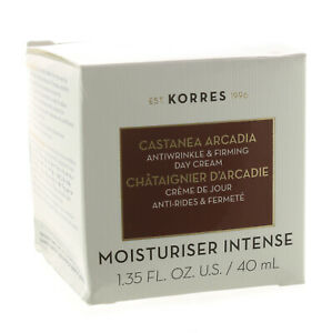KORRES CASTANEA ARCADIA ANTI-WRINKLE & FIRMING DAY CREAM 40ML / 1.35 OZ