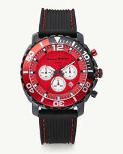 Tommy Bahama Atlantis Chronograph Watch TB00007-04 Men's Silicone Strap $275 NEW