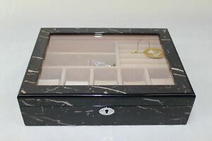 High Gloss Finish watch display box- 824