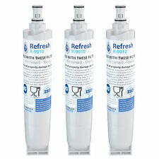 Refresh Water Filter - Fits Whirlpool ED5FHEXNB00 Refrigerators (3Pack)