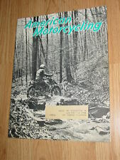 American Motorcycling Magazine June 1969 ama bsa