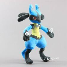 Pokemon Lucario Stuffed Animal Soft Plush Toy Doll 12'' Pocket Monsters Figure