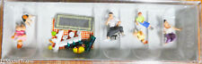 Preiser HO #10617 Picnic Figures w/Accessories (1:87th Scale) Painted