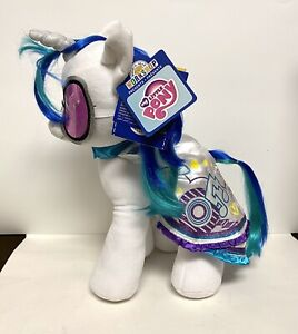 My Little Pony G4 Friendship Is Magic Build A Bear DJ Pon-3 Vinyl Scratch Plush