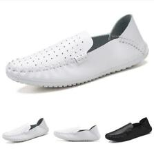 Mens Leisure Faux Leather Shoes Driving Moccasins Pumps Slip on Breathable New D