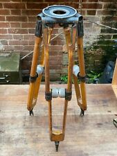 MOY London Early 20th C  Wooden Cinecamera Tripod. Ideal for a Large Lamp Base