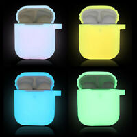 Luminous Silicone Case for Air Pods Headphone Protection Cover for For Airpods B