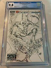 Transformers vs. G.I. Joe #1 2014 IDW Convention Variant Liefeld RARE CGC 9.8