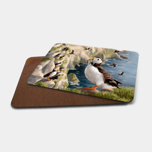 Highland Wildlife Placemats - Board Back (Puffin, Stag, Otter, Wild Cat etc..)