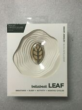 Bellabeat Leaf Nature Health Tracker Smart Jewelry Silver Opened Box