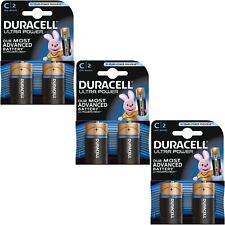 6X Duracell Ultra Power C TIPO PILAS ALCALINAS DURALOCK - 1.5vv Lr14 mx1400